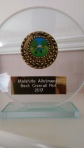 1st Prize Presentation plaque received on Monsterinthecorner yesterday